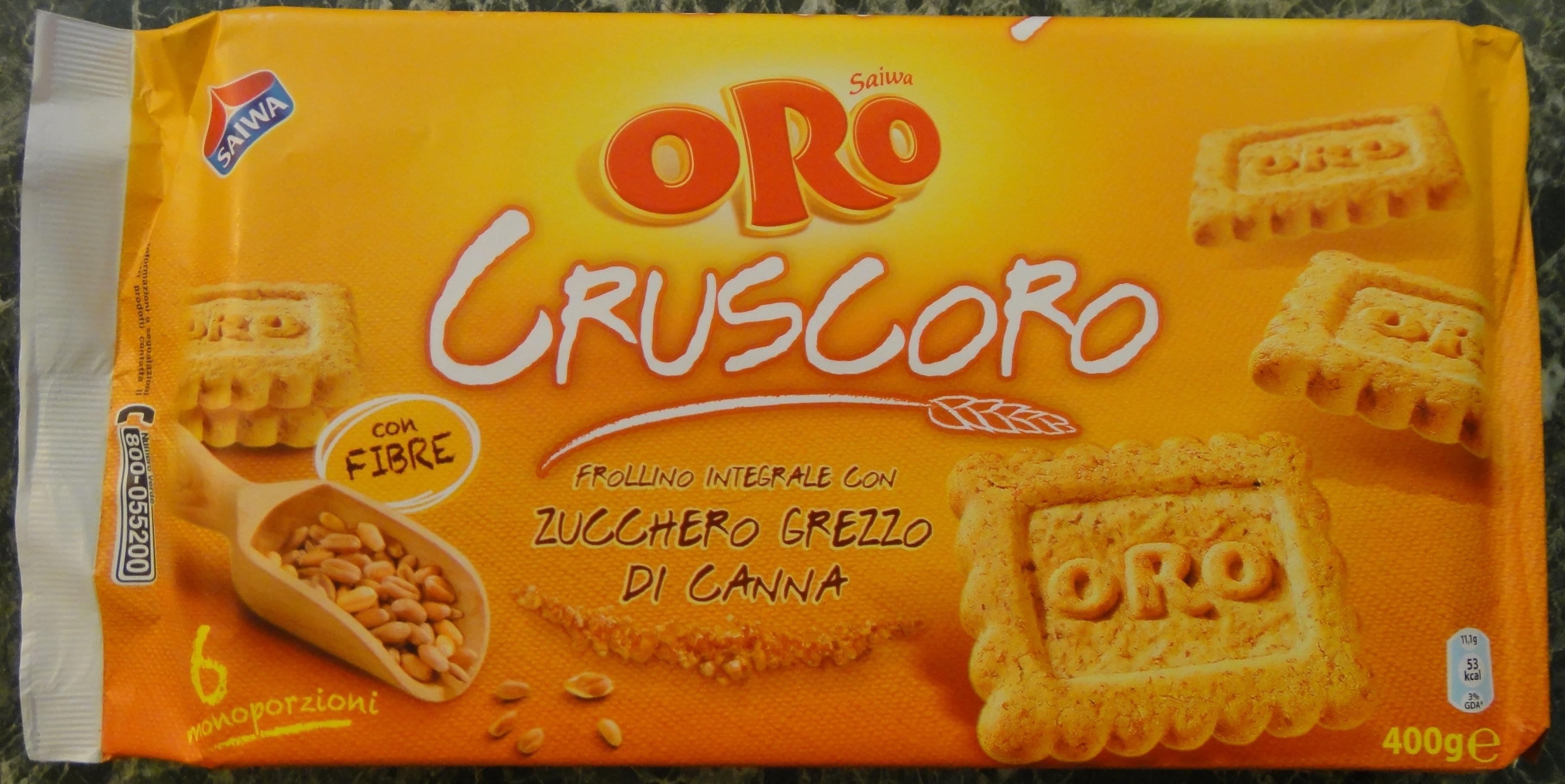 Cruscoro – Oro Saiva con fibre