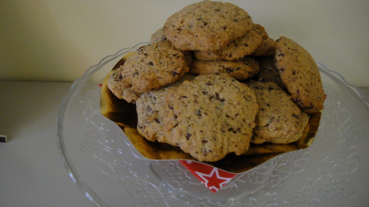 Biscotti con cioccolato e zenzero fresco