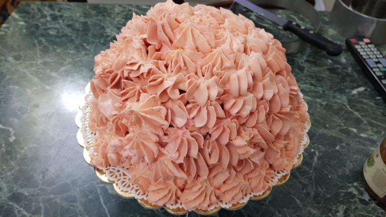 Ricetta Torta rosa