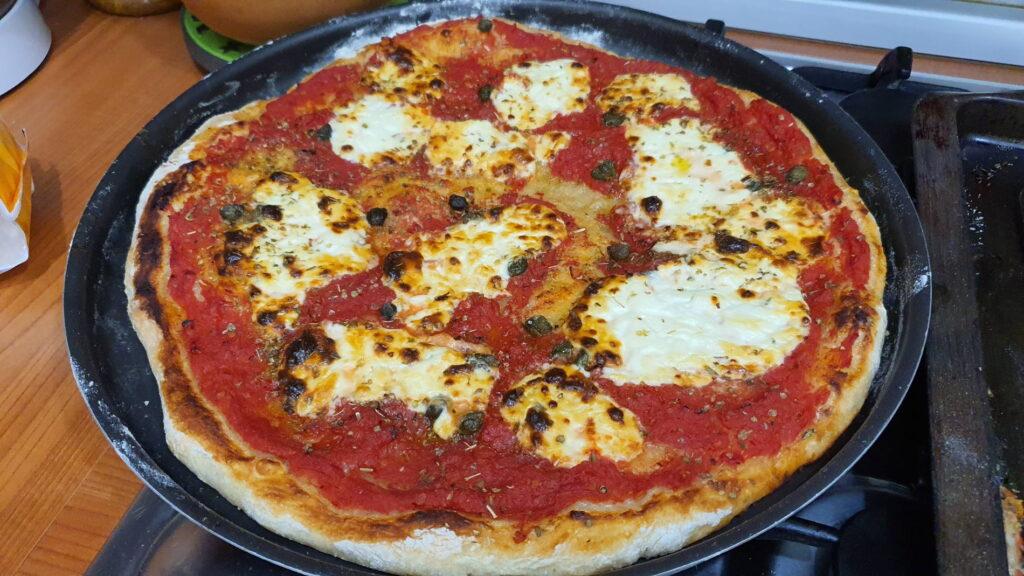 pizza con preparato per pizza coop